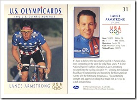 LA Olympic card