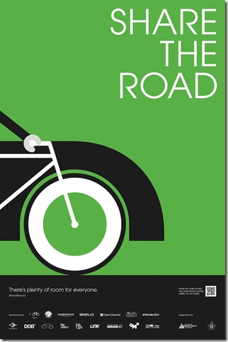 Share the road Poster 1